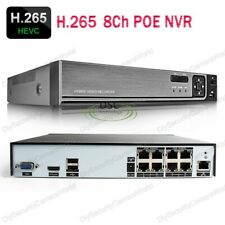 16 Channel NVR with 8 Port PoE, H.265 / H.264 Support IP Up to 5MP, XMEYE APP