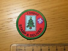 Fundraising Stamp & Deliver Badge - Scouts