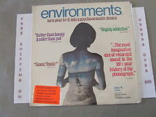 ENVIROMENTS DISC 9 TURN YOUR HI-FI INTO A PSYCHOACOUSTIC DEVICE LP PSYCH SHRINK