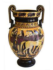 Ancient Greek Wedding Theme -Volute Krater Vase - Museum Replica
