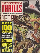 #2 SEPT 1962 SCREEN THRILLS ILLUSTRATED movie magazine