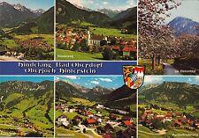 Hindeland , Bad Oberdorf , Oberjoch-Hinterstein , Ansichtskarte, 1985 gelaufen