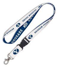 "BYU Brigham Young Cougars 3/4"" Lanyard ID Badge Holder w/Breakaway Clip - SALE"