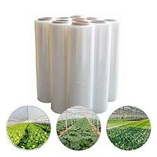 Agfabric®12x25ft 5.5Mil Plastic Covering Clear Polyethylene Greenhouse Film