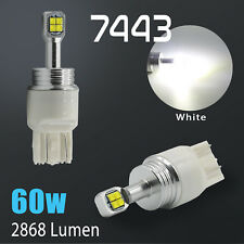 2018 CREE 7443 2800 Lumens 60W White Backup Reverse High power LED Light Bulbs