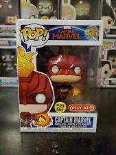 FUNKO POP edizione speciale esclusiva CAPITANO Marvel Flying GLOW in il SCURO 433