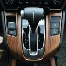 For Honda CRV CR-V 2017 2018 Wooden Color Grain Interior Gear Shift Panel Cover