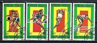 jo Sommer Togo (35) Serie komplette mit 4 Briefmarken entwertet