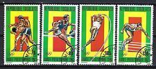 JO été Togo (35) série complète de 4 timbres oblitérés