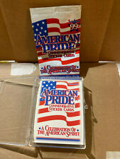 2001 Inkworks American Pride Commemorative Sticker Set (45) free shipping