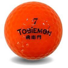 Tobiemon Fluorescence golf ball Orange 1 dozen (12) Flygadr-Od3