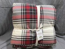 Pottery Barn Hamilton Plaid ReversibleKing Comforter