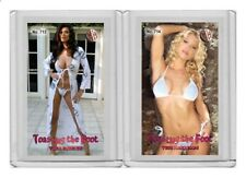 Tera Patrick rare MH Toasting the Foot #'d 1/3 Tobacco card no. 713