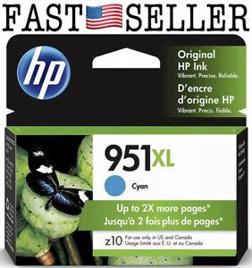 Genuine HP 951XL Cyan High Yield Ink Cartridge - CN046AN *09/2019* SEALED! FAST!