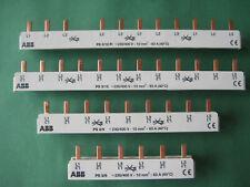 ABB Sammelschiene Kammschiene Strom Phasen Schiene 3-polig u.a PS3/12 PS3/12 FI