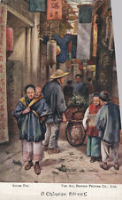 1910s London Postcard A Chinese Street Scene All British Picture Co 99p Start!
