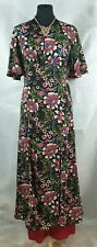 InVogue dress S UK10 US6 EU38 party floral 40s 30s retro  occasion party silky