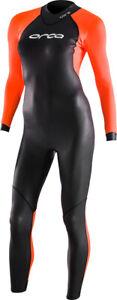 Orca Core Hi-Vis Openwater Womens Wetsuit - Black