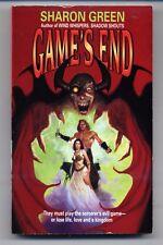 SHARON GREEN Game's End VG+ 1st printing DANIEL HORNE COVER ART