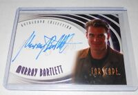Farscape TV -Show Autograph Trading Card A29 Murray Bartlett as D.K
