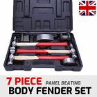 7Pcs Car Auto Hammer Set Repair Tool Kit Bodywork Panel Dent Body Beating Beater