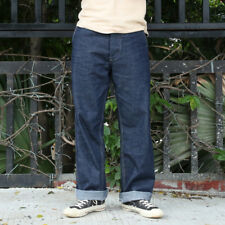 Bronson US Army M-40 Dungaree Pants Vintage Selvage Denim Jeans For Men Onewash