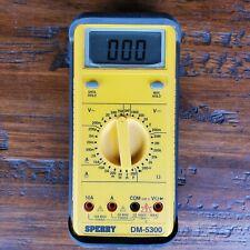 Sperry Dm5300 Rugged 7 Function Digital Multimeter