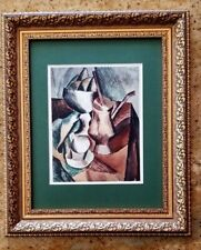PABLO PICASSO ORIGINAL 1956 BEAUTIFUL SIGNED PRINT MATTED 11 X 14 + LIST  $750