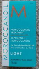 Morrocan oil treatment LIGHT 25ML