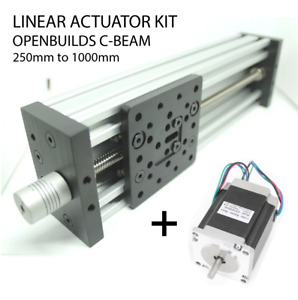 X Y Z Axis Openbuilds C-Beam Linear Actuator Kits 250mm 500mm 700mm 1000mm