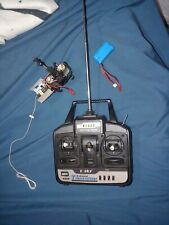 E Sky E012 LAMA helicopter and controller and battery. Works.