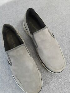 Men's Skechers 51502W Wide Fit Size 14 Slip On Gray Casual Loafer Shoes