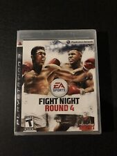 PLAYSTATION 3 (2009) FIGHT NIGHT ROUND 4 BOXING NEW FACTORY SEALED PS3