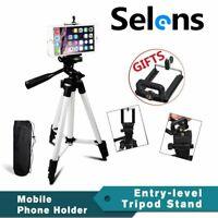 Camera Photo Tripod Monopod w/ Phone Holder for Canon Nikon Sony Photography Kit