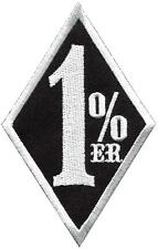 One Percenter 1%er biker outlaw motorcycle gang applique iron-on patch S-1181