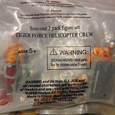 GI JOE ~ 2015 HELICOPTER CREW MISB ~ SKYSTRIKER, ALPINE & FROSTBITE TIGER FORCE