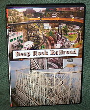 "20126 Model Railroad Dvd ""Deep Rock Railroad"" N Scale Steam/Diesel/Trolley"