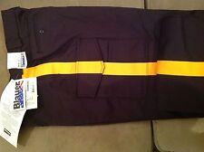 NWT Blauer 8215 - police / security 6 pocket uniform pants w/ gold stripe Sz 38