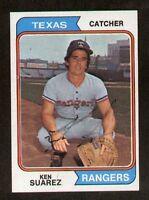 Ken Suarez #39 signed autograph auto 1974 Topps Baseball Trading Card