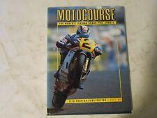 1987-1988 MOTOCOURSE BOOK,WAYNE GARDNER COVER, SIDECARS,FORMULA,MANX,BRITISH,AMA