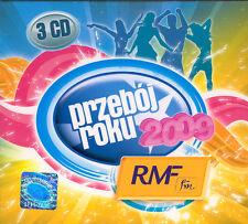 = rmf fm PRZEBOJ ROKU 2009 HIT OF YEAR / 3 CD sealed digipack