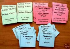 84 MIX & MATCH STORY ELEMENT CARDS - WRITING resource