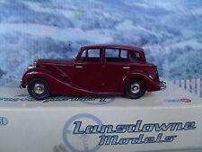 1/43 Lansdowne/Brooklin (England)   1954 Triumph renown MK II #8A white metal