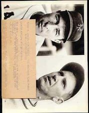 Lefty O`doul 1930`s Ny Giants Original Wire Photo