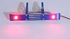 Aluminum Rear Bumper + Red LED Light Fit E / T-Maxx 3.3