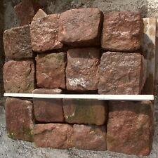 0,5 M ² Paving Stones Buntsandsteine Natural Stone Lawn Edge Cobblestones