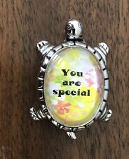 """Lucky Message Turtle Figurine """"You Are Special"""" Encouragement Ganz"""