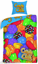 Candy Crush Saga Funda nórdica individual Mercadería Oficial de dreamtex, BNWT