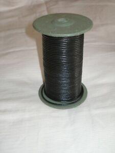 Cordon en cuir  noir 3 mm fil pour bracelet collier bijoux, perle
