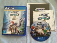 Ys VIII Lacrimosa of Dana Day One Edition (PS4, 2018) AUS PAL Complete